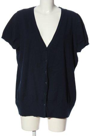 bpc bonprix collection Sweter z krótkim rękawem niebieski W stylu casual