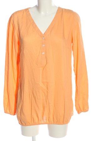 bpc bonprix collection Bluzka z długim rękawem jasny pomarańczowy