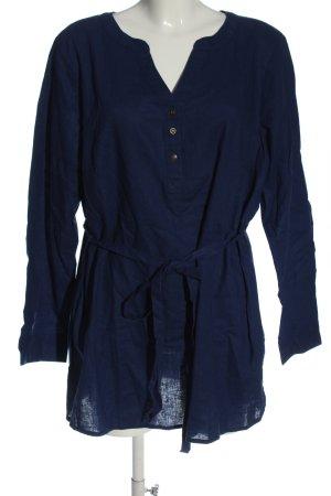 bpc bonprix collection Long Sleeve Blouse blue elegant