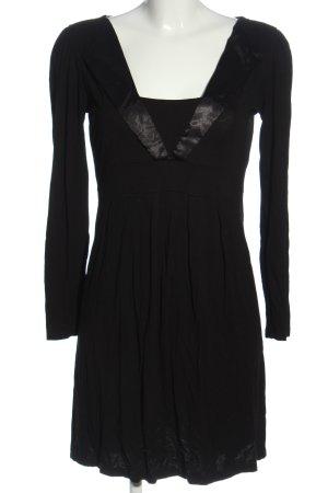 bpc bonprix collection Langarmkleid schwarz Elegant
