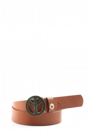 bpc bonprix collection Cinturón de cuero de imitación crema look casual