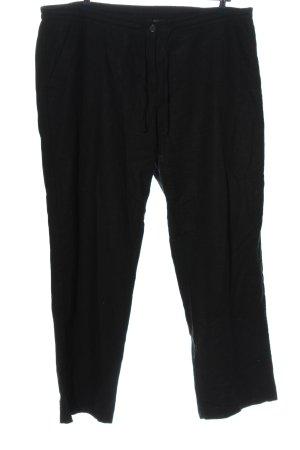 bpc bonprix collection Pantalone di lino nero stile casual