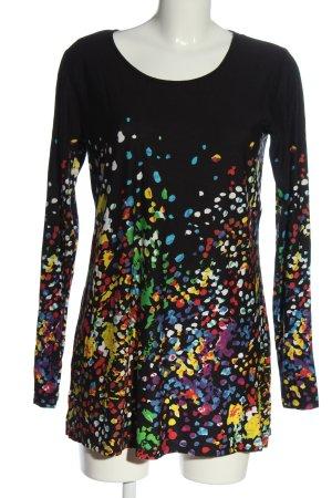 bpc bonprix collection Long Shirt abstract pattern casual look
