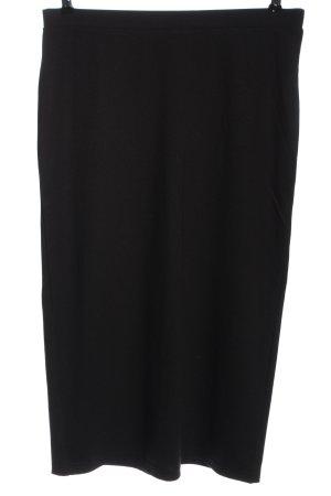 bpc bonprix collection Midi Skirt black business style