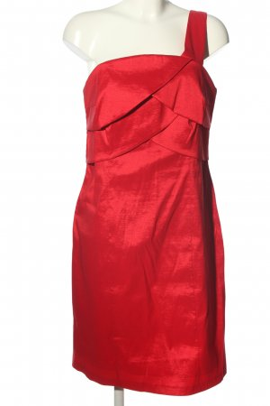 bpc bonprix collection Vestido de un hombro rojo elegante