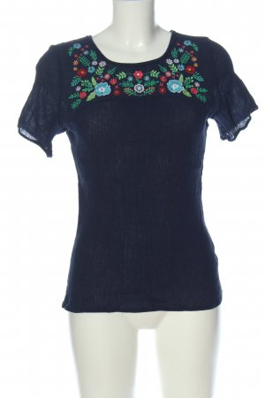 bpc bonprix collection Print Shirt embroidered lettering casual look