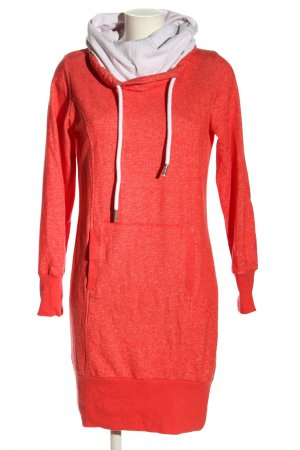 bpc bonprix collection Sweater Dress red-white flecked casual look