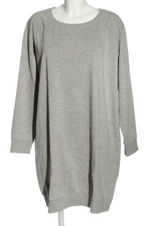 bpc bonprix collection Swetrowa sukienka jasnoszary Melanżowy W stylu casual