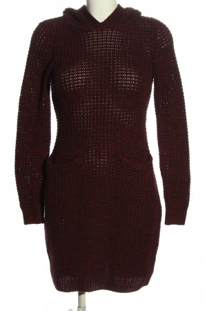 bpc bonprix collection Sweater Dress red-black cable stitch casual look