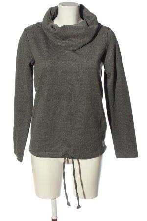 bpc bonprix collection Koszulka z golfem jasnoszary Melanżowy W stylu casual