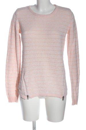 bpc bonprix collection Crewneck Sweater cream-white cable stitch casual look
