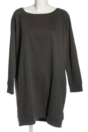 bpc bonprix collection Sweter z okrągłym dekoltem jasnoszary Melanżowy
