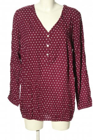 bpc bonprix collection Bluzka przez głowę różowy-biały W stylu casual