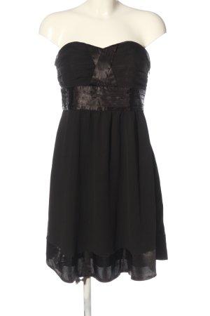 bpc bonprix collection schulterfreies Kleid schwarz Elegant