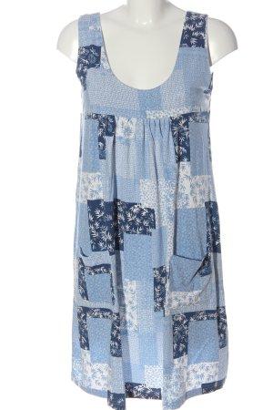 bpc bonprix collection Letnia sukienka niebieski-biały Na całej powierzchni