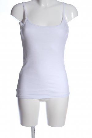 bpc bonprix collection Top con bretelline bianco stile casual