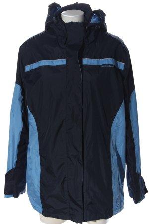 bpc bonprix collection Giacca sport nero-blu Stampa a tema stile casual