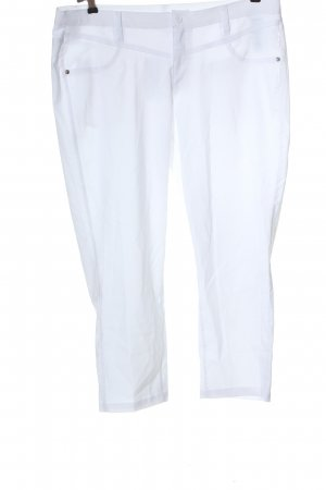 bpc bonprix collection Stoffen broek wit casual uitstraling