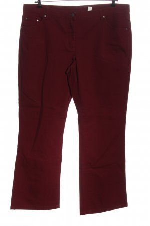 bpc bonprix collection Straight Leg Jeans red allover print casual look