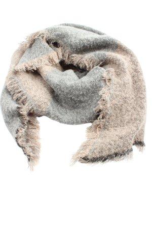 bpc bonprix collection Bufanda de punto crema-gris claro estampado a rayas