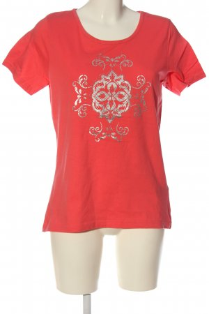 bpc bonprix collection T-Shirt red themed print casual look