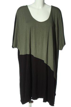 bpc bonprix collection T-shirt kaki-noir style décontracté