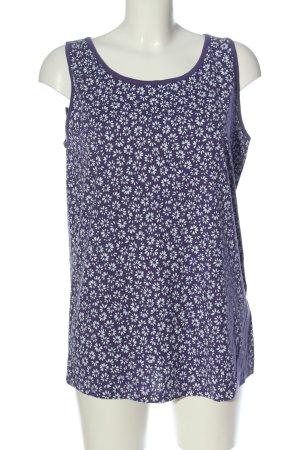 bpc bonprix collection Tank Top lilac-white allover print casual look