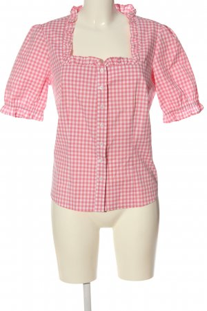 bpc bonprix collection Traditional Shirt pink-white check pattern casual look