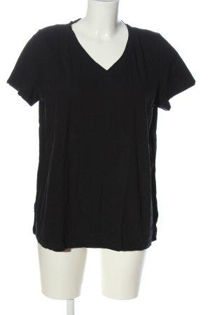 bpc bonprix collection V-Neck Shirt black casual look