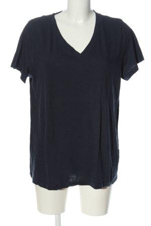 bpc bonprix collection V-hals shirt blauw casual uitstraling