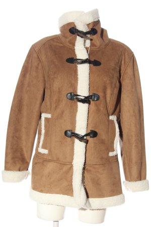 bpc bonprix collection Płaszcz zimowy brązowy W stylu casual