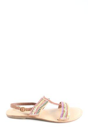 bpc Sandales Dianette multicolore style décontracté
