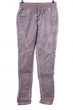 bpc Lage taille broek lila casual uitstraling