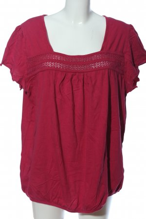 bpc Kurzarm-Bluse pink Casual-Look