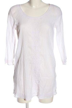 bpc Langarm-Bluse weiß Casual-Look