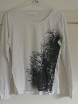 BPC Langarmshirt mit Baumdruck