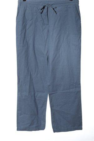 bpc Leinenhose blau Casual-Look