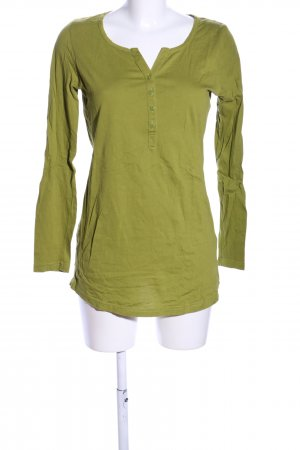 bpc Lang shirt groen casual uitstraling