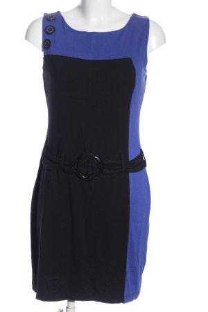 bpc Minikleid schwarz-blau Business-Look