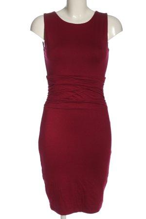 bpc Sukienka mini czerwony Warkoczowy wzór W stylu casual