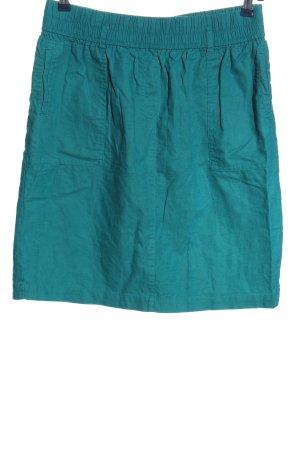 bpc Mini-jupe turquoise style décontracté