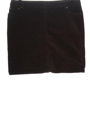bpc Mini-jupe brun style décontracté