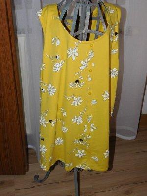 bpc bonprix collection Top linea A bianco-giallo