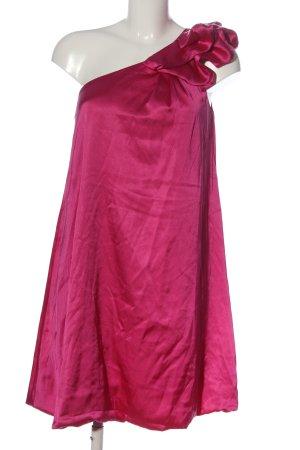 bpc Eénschouderjurk roze elegant