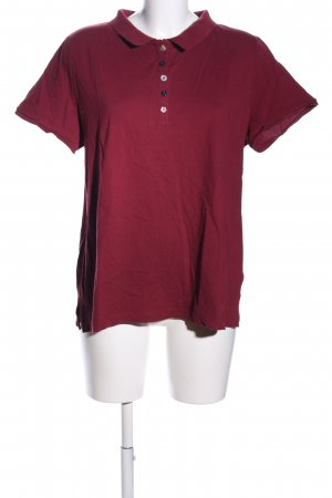 bpc Polo-Shirt rot Casual-Look
