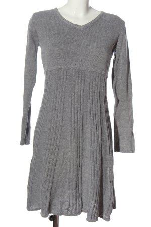bpc Robe pull gris clair style décontracté