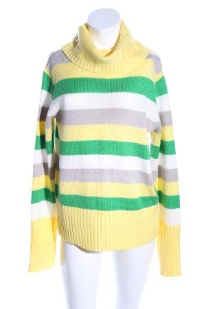 bpc Turtleneck Sweater striped pattern casual look