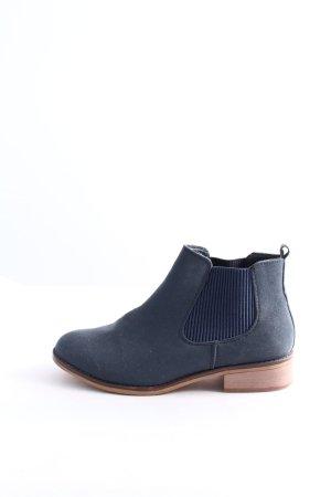 bpc Schlüpf-Stiefeletten blau Business-Look