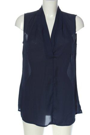 bpc selection Blusa sin mangas azul estilo «business»