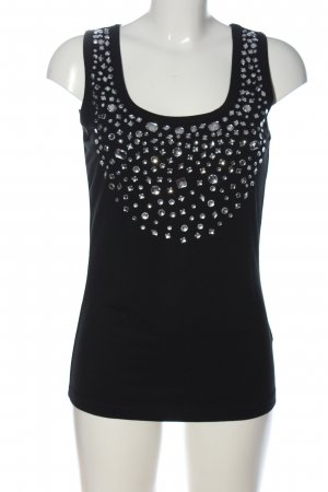 bpc selection Sleeveless Blouse black casual look